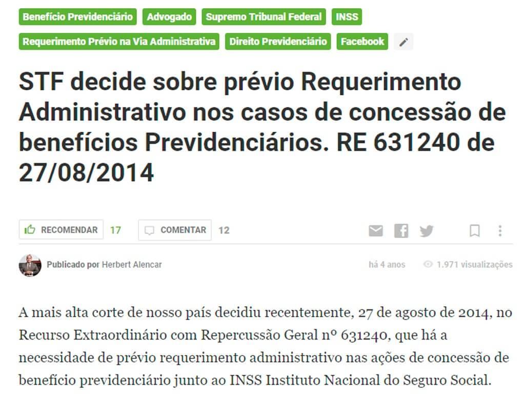 stf-decide-sobre-previo-requerimento-administrativo-nos-casos-de-concessao-de-beneficios-previdenciarios-re-631240-de-27-08-2014 Imprensa